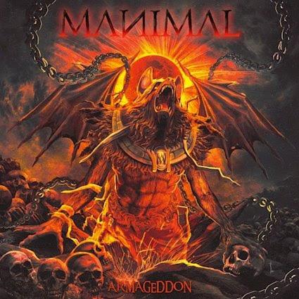 MANIMAL Armageddon AFM Records 6 August 2021
